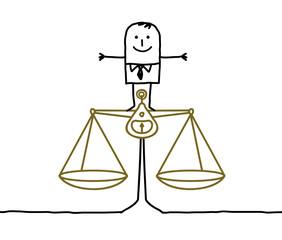 man & justice