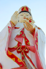 standing Guan Yin statue