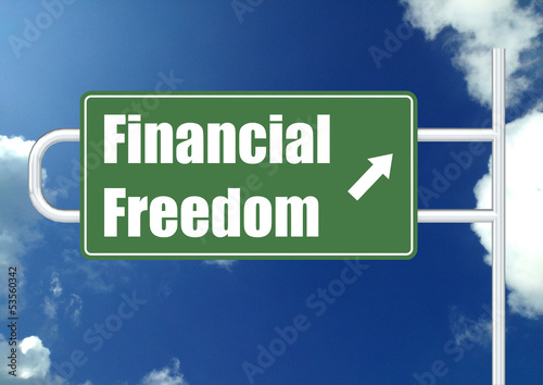 Financial freedom with sky