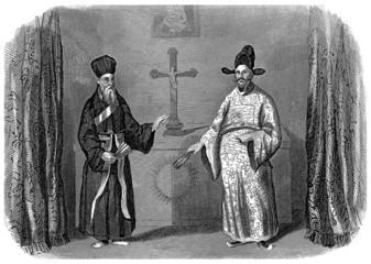 Evangelization in China - 17th century