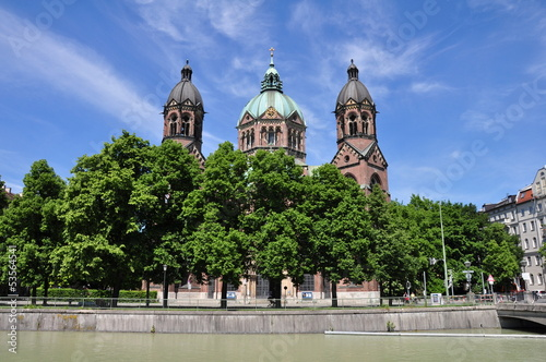 St. Lukas church (Lukaskirche), Munich, Germany