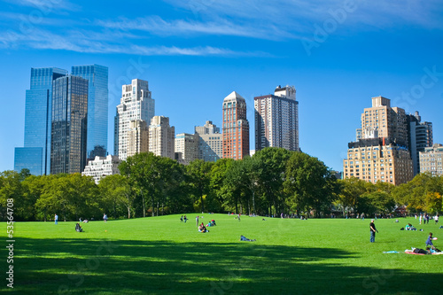 Meadow - Central Park - New York