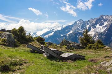 Erholung in den Alpen