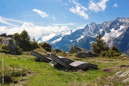 Fototapeten,panorama,alpen,mazanillo,berg