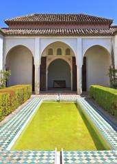 Patio de la Alberca, Alcazaba de Malaga, Costa del Sol