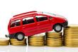Auto und Münzen
