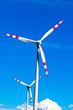 Windrad eines Wind Kraftwerkes für Strom