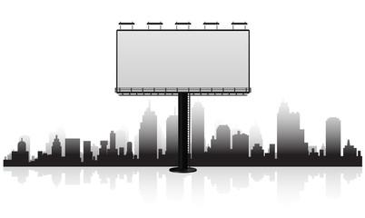 billboard cityscpe
