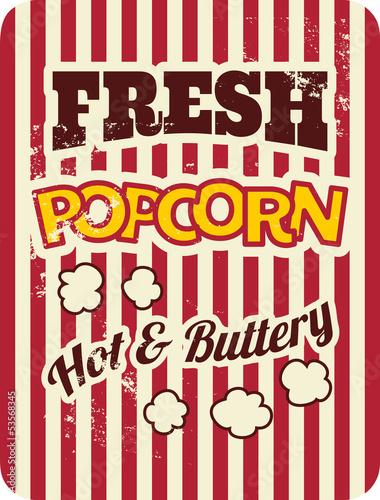 plakat-retro-popcorn