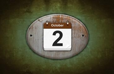 2 de Octubre.