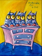 Three Owls On The Chest Of Drawers