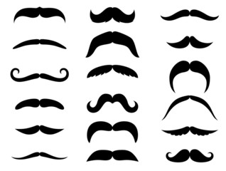 Black moustaches