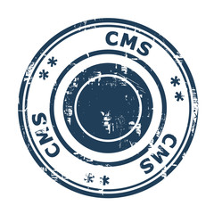 CMS business stamp
