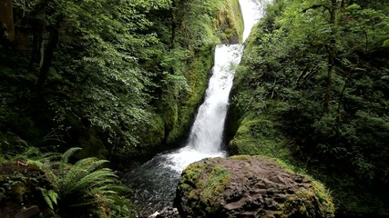 Bridal Veil Falls in the Columbia River Gorge in Oregon