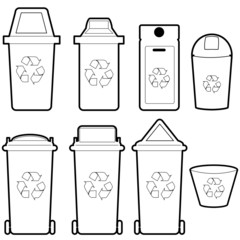 recycle bin   vector