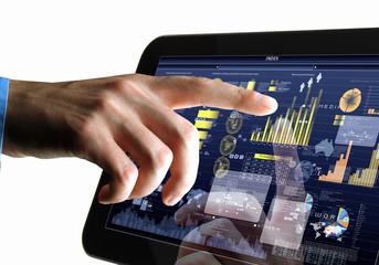 Modern computer technology in business