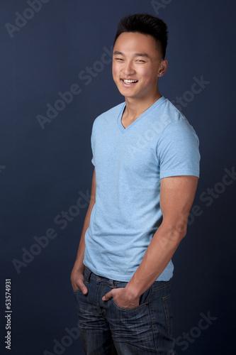 Asian man da