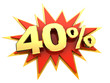 special offer forty percent