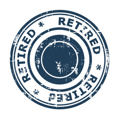 Retired concept stamp