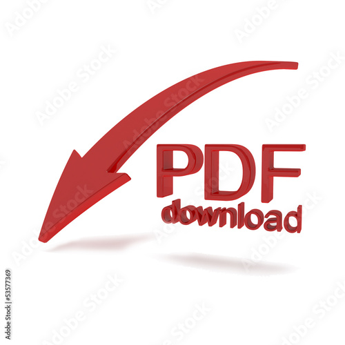 Pdf file download illustration
