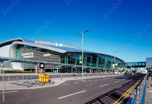 Terminal 2, Dublin Airport, Ireland opened in November 2010 - 53579386