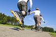 Drei Skater