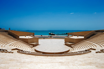 The Katara Amphitheater, Doha, Qatar