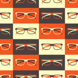 Glasses Seamless Pattern