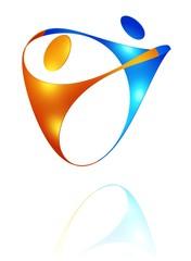 Tanzpaar - Partnerschaft - Icon