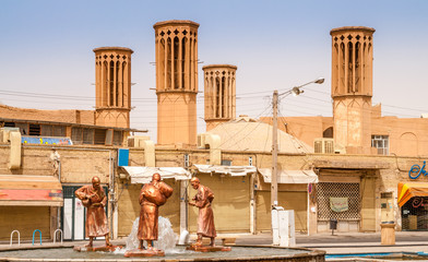 Badghir of Yazd - Old Aircondition