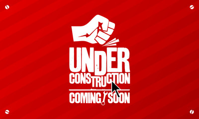 Under construction design template