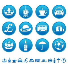 UK icons