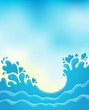 Water splash theme image 8