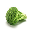 broccoli on white