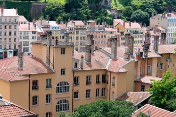 Ensemble d'immeubles à Lyon