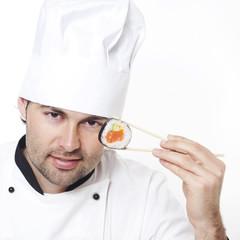Koch empfiehlt Sushi