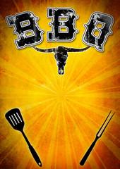 BBQ Flyer/Textfreiraum