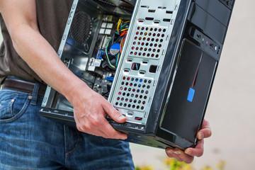 Computer service hardware