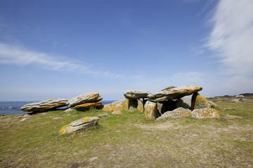 dolmen de la planche à puare,île d'Yeu