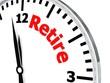 Retire clock
