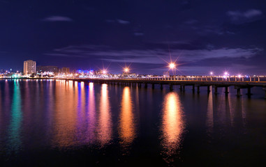 St Kilda Pier at night