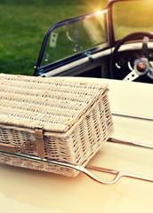 classic car picnic