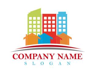 Small town logo