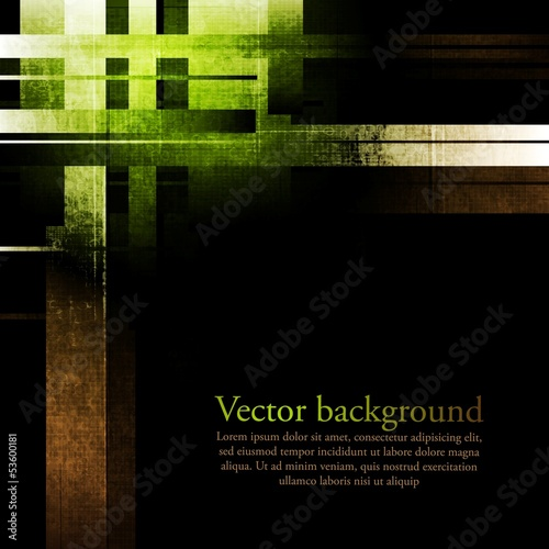 Dark abstract grunge background
