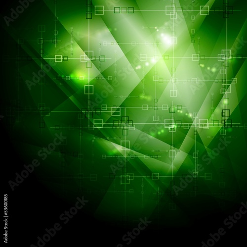 Dark technology vector backdrop