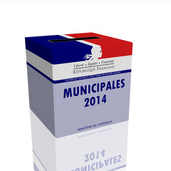 Urne Elections Municipales 2014