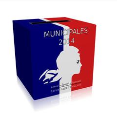 Urne Municipales 2014 Marianne