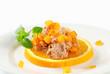 Savory spread with orange