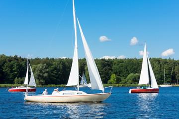 Berlin, Havel, Segelboote