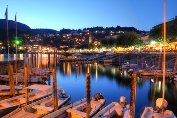 Lake Maggiore, Switzerland